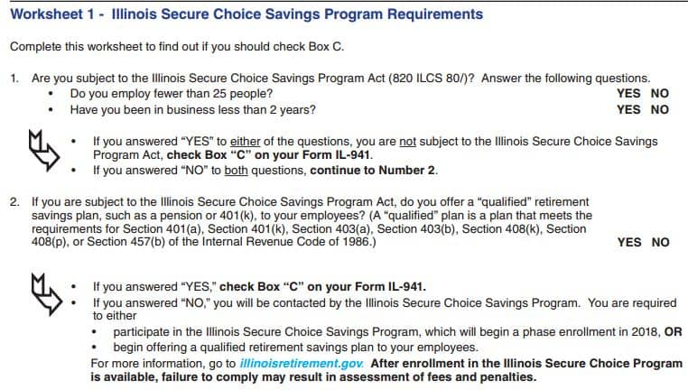Illinois Secure Choice Savings Program - Chicago CPA Firm